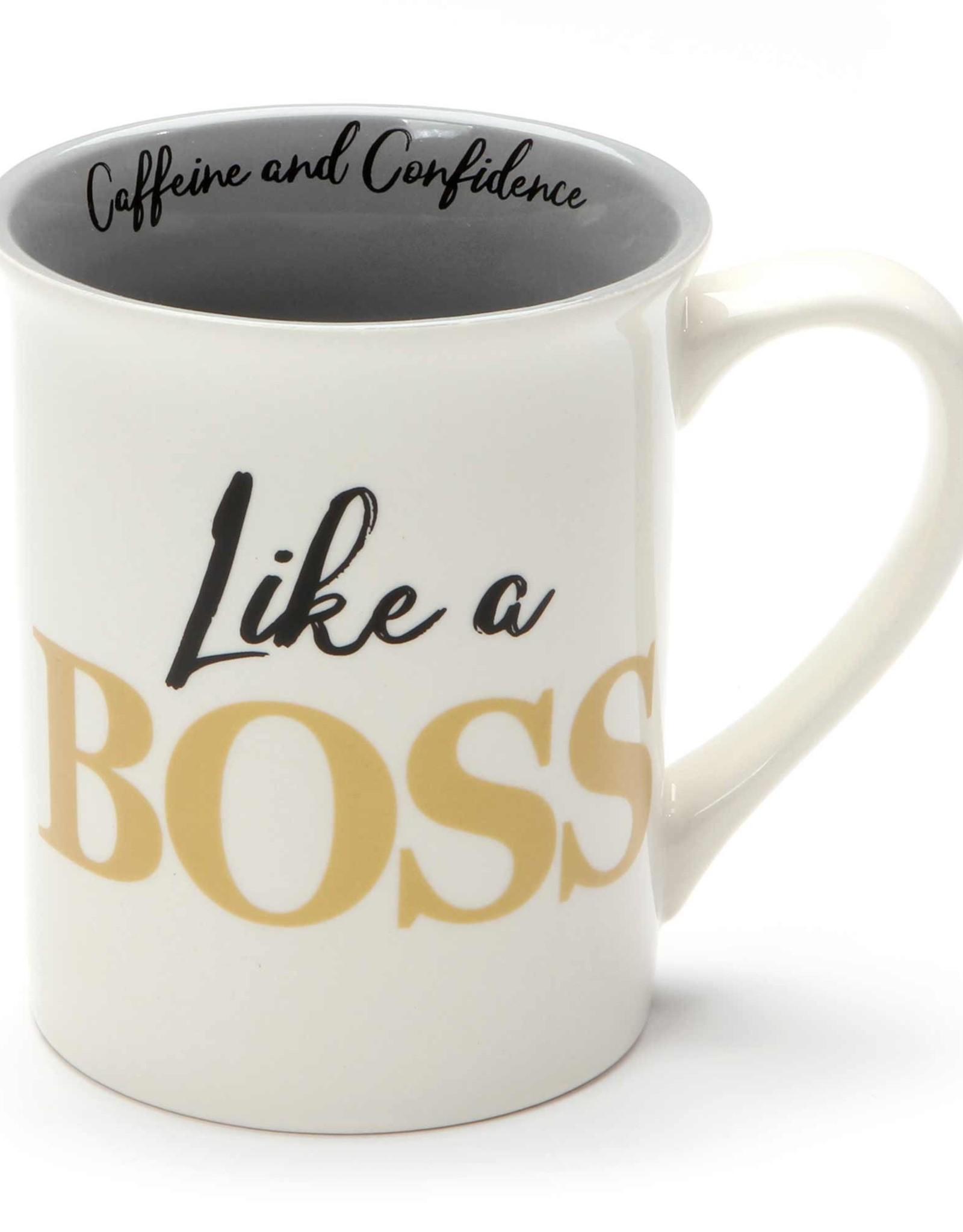 Pretty Strong Like A Boss Mug