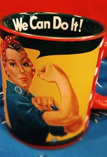 Pretty Strong Rosie The Riveter 12 oz. Ceramic Mug