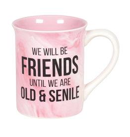 Senile Friends Mug