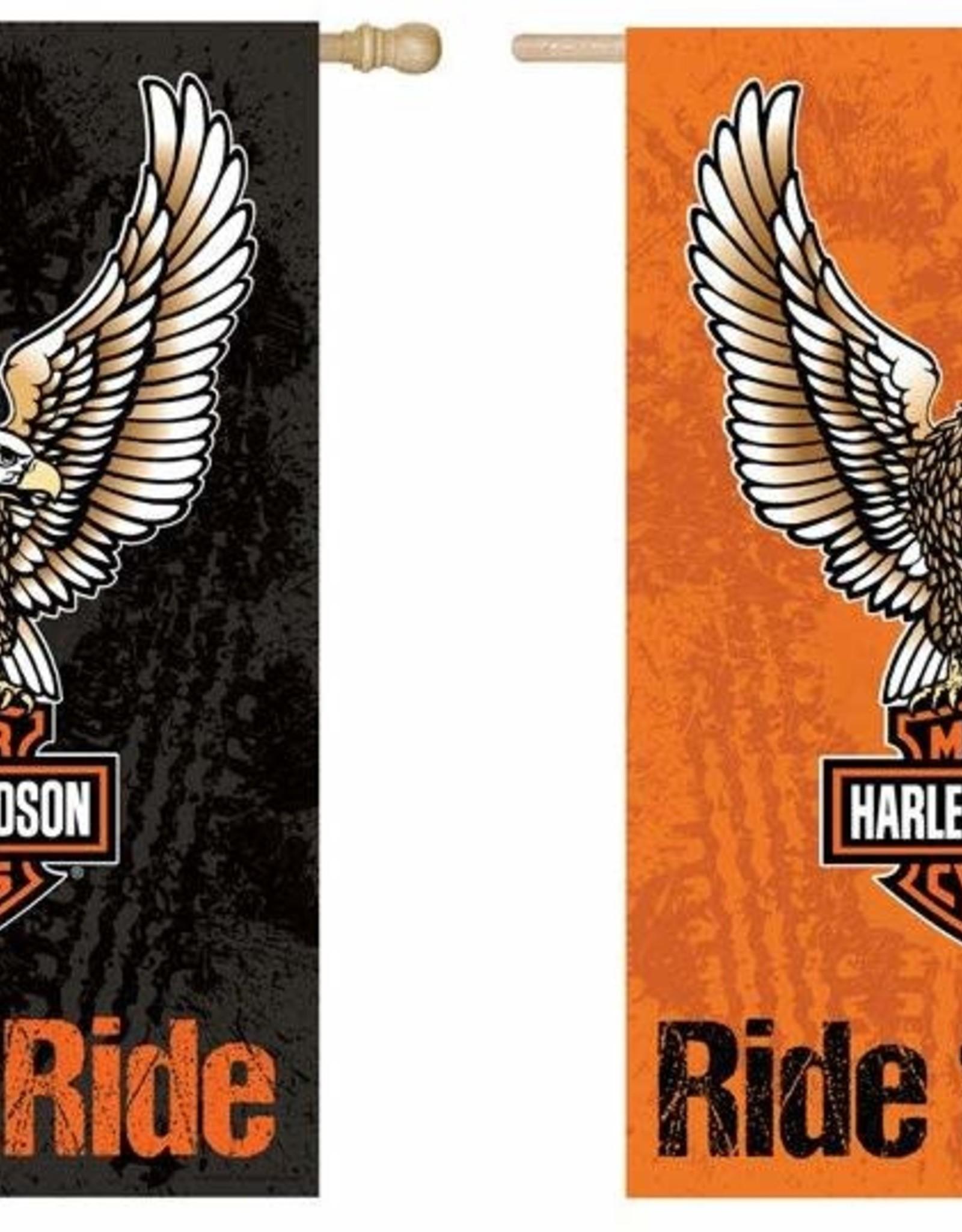 Pretty Strong Harley-Davidson Eagle Flag