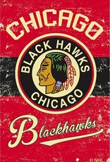 Pretty Strong Blackhawks Vintage Flag