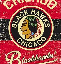 Blackhawks Vintage Flag