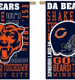 Bears Fan Rules Flag