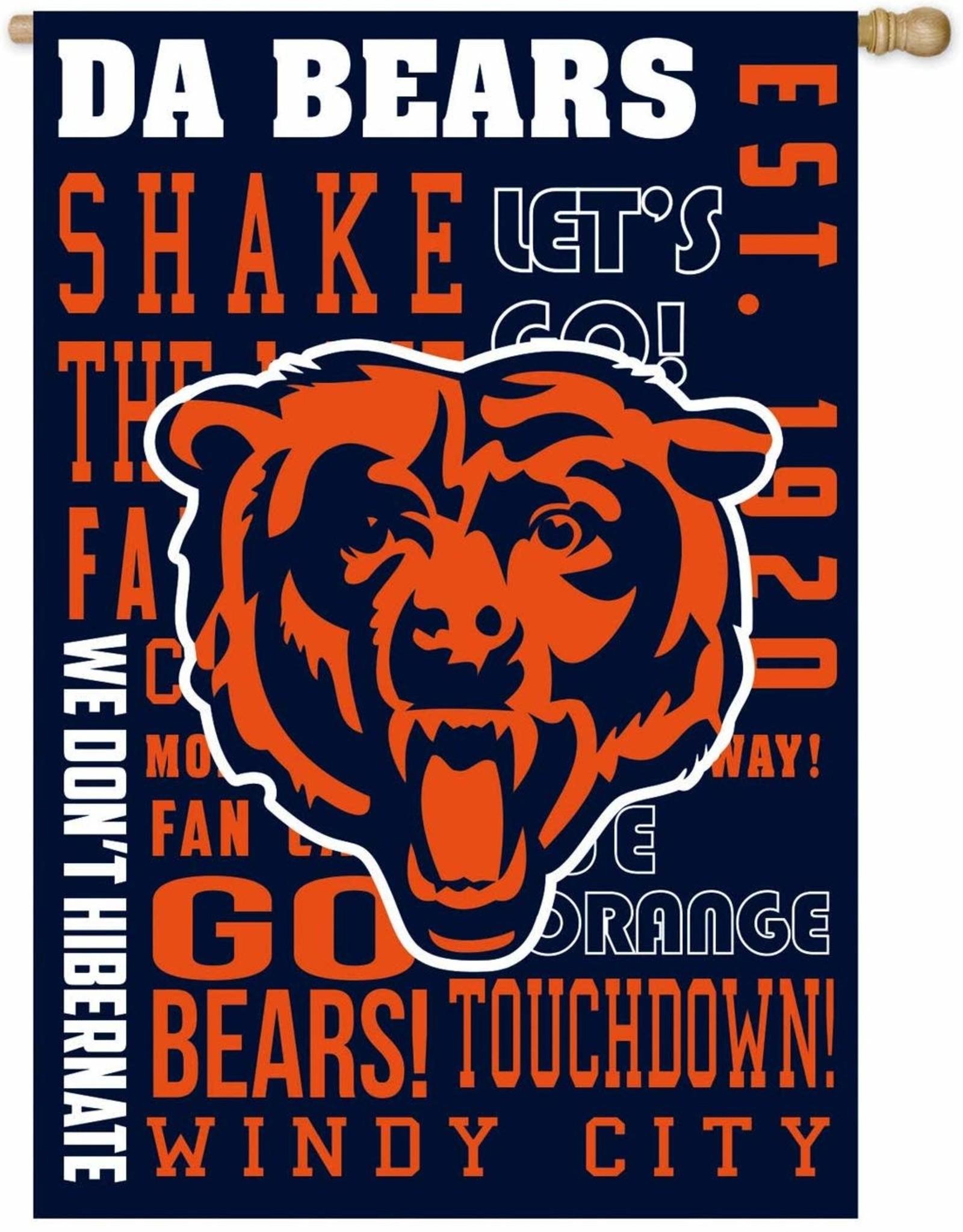 Bears Fan Rules Flag