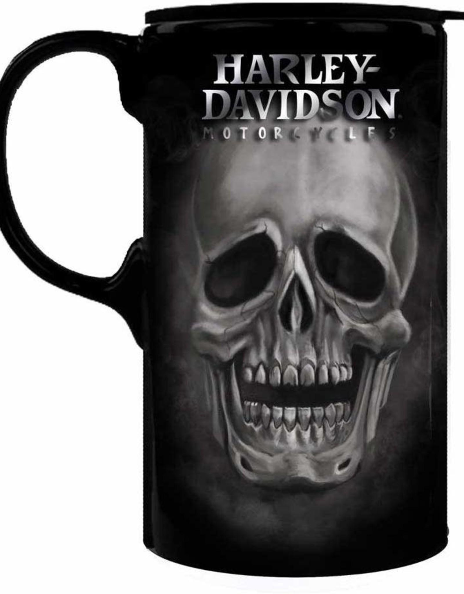 Harley-Davidson Skull Tall Boy w/Box