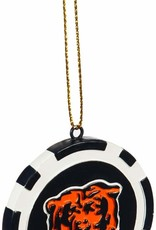 Pretty Strong Bears Poker Chip Ornament