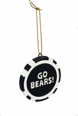Bears Poker Chip Ornament