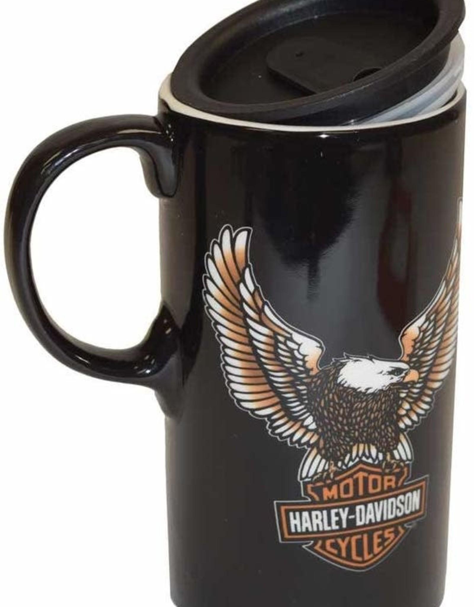 Pretty Strong Harley-Davidson Tall Travel Mug w/Box