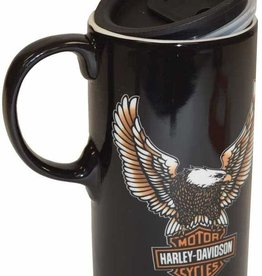 Pretty Strong Harley-Davidson Tall Travel Mug w/Box