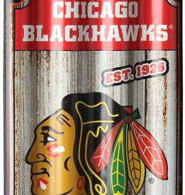 Pretty Strong Blackhawks Tin Ornament