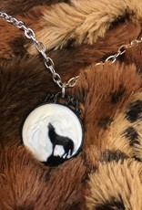 Pretty Strong Wolf Necklace