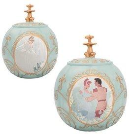 Pretty Strong Cinderella Sculpted Ceramic Cookie Jar