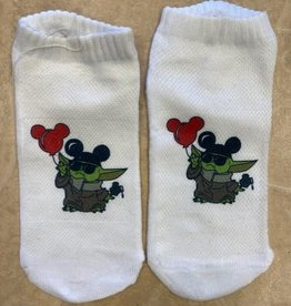 Pretty Strong Baby Yoda Socks