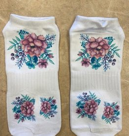 Pretty Strong Flower Socks
