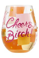 Cheers Bitch Wine Tumbler