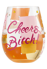 Pretty Strong Cheers Bitch Wine Tumbler
