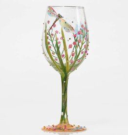 Pretty Strong Lolita Dragonfly Wine Stem Glass