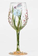 Pretty Strong Lolita Dragonfly Wine Stem Glass