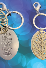 Pretty Strong Tree of Life Keychain