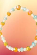 Pretty Strong Golden Beaded Bracelet