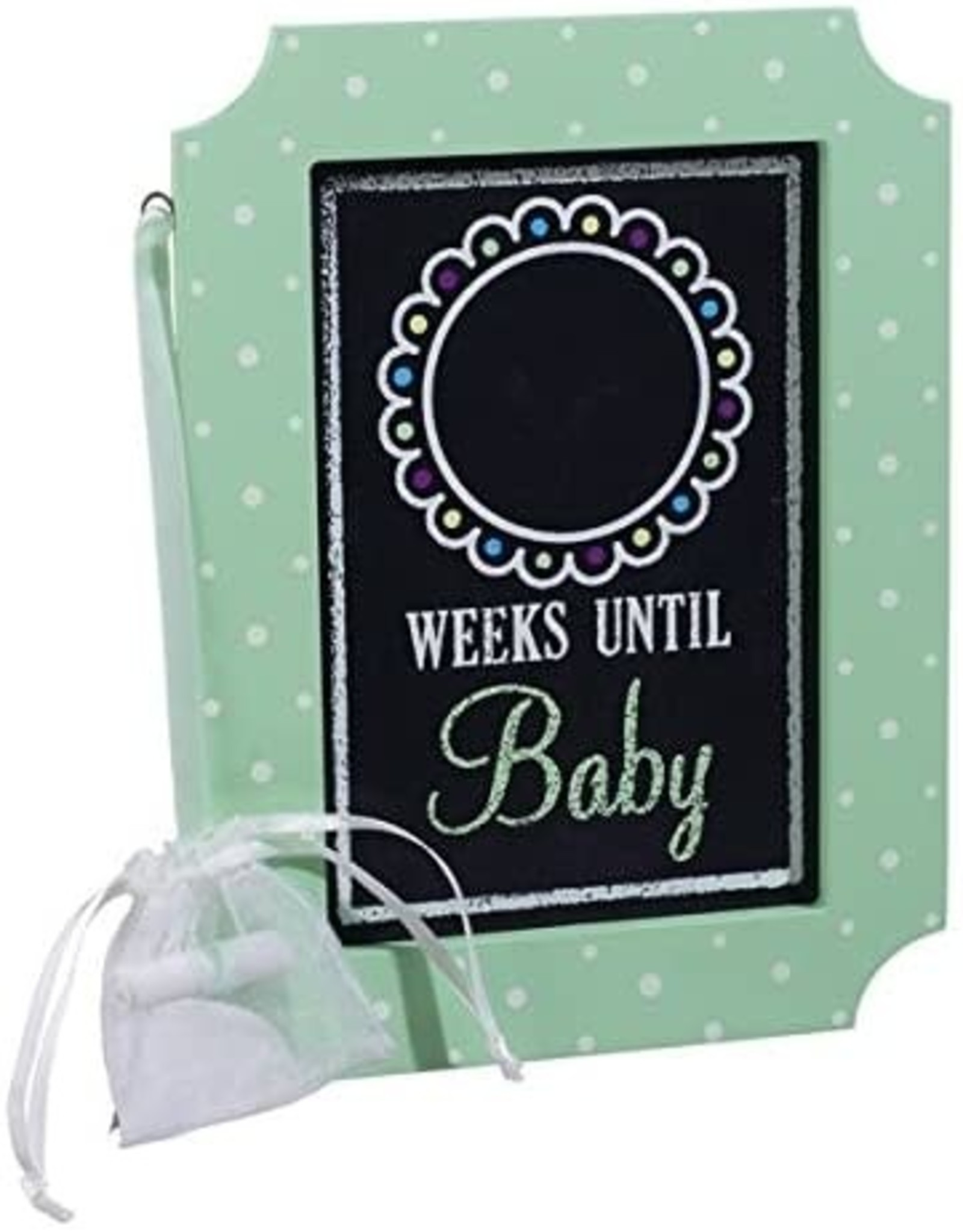 Pretty Strong Chalk Sign Countdown Until Baby