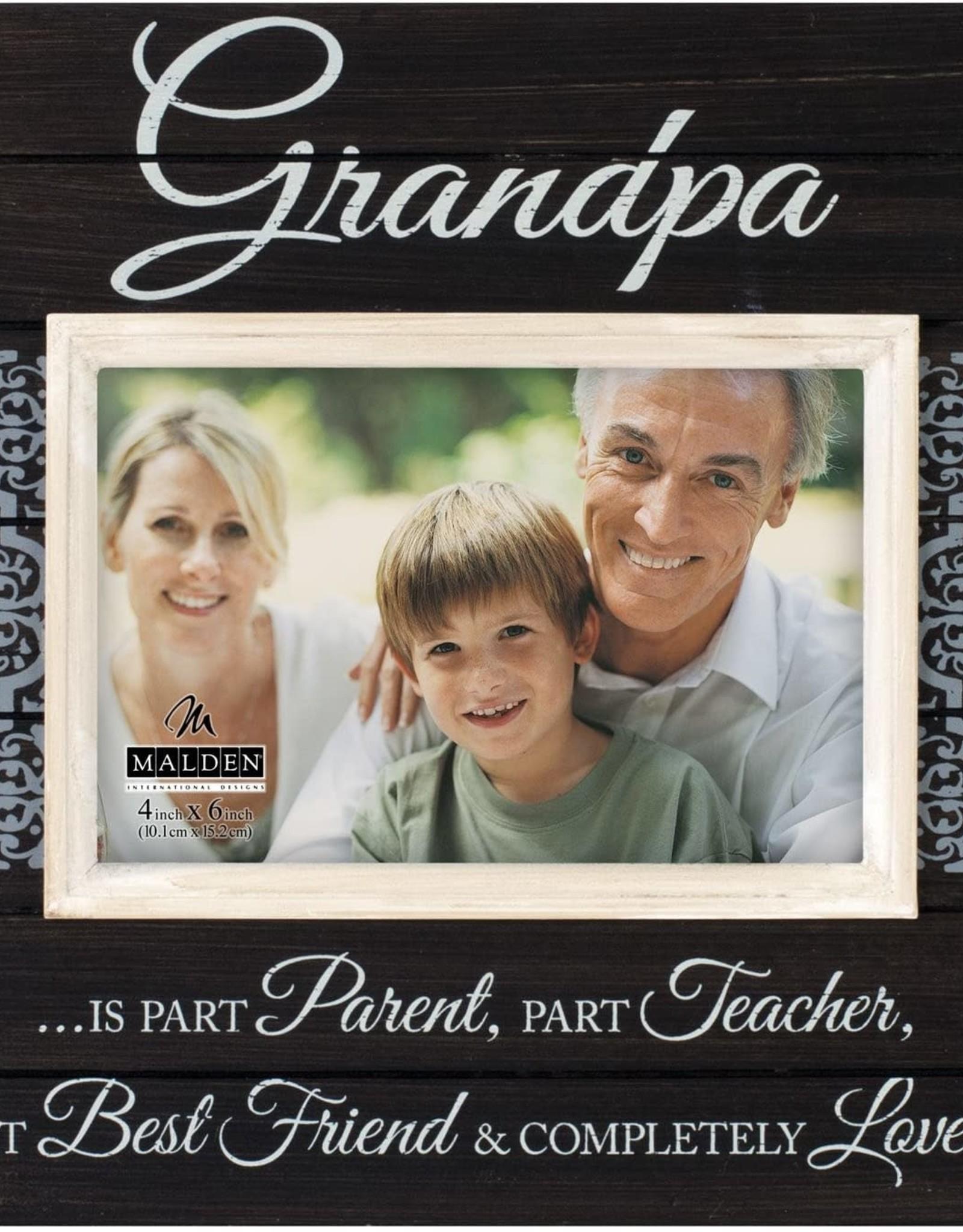 Pretty Strong Grandpa Plank Frame