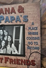 Pretty Strong Nana & Papa Best Friends Sign
