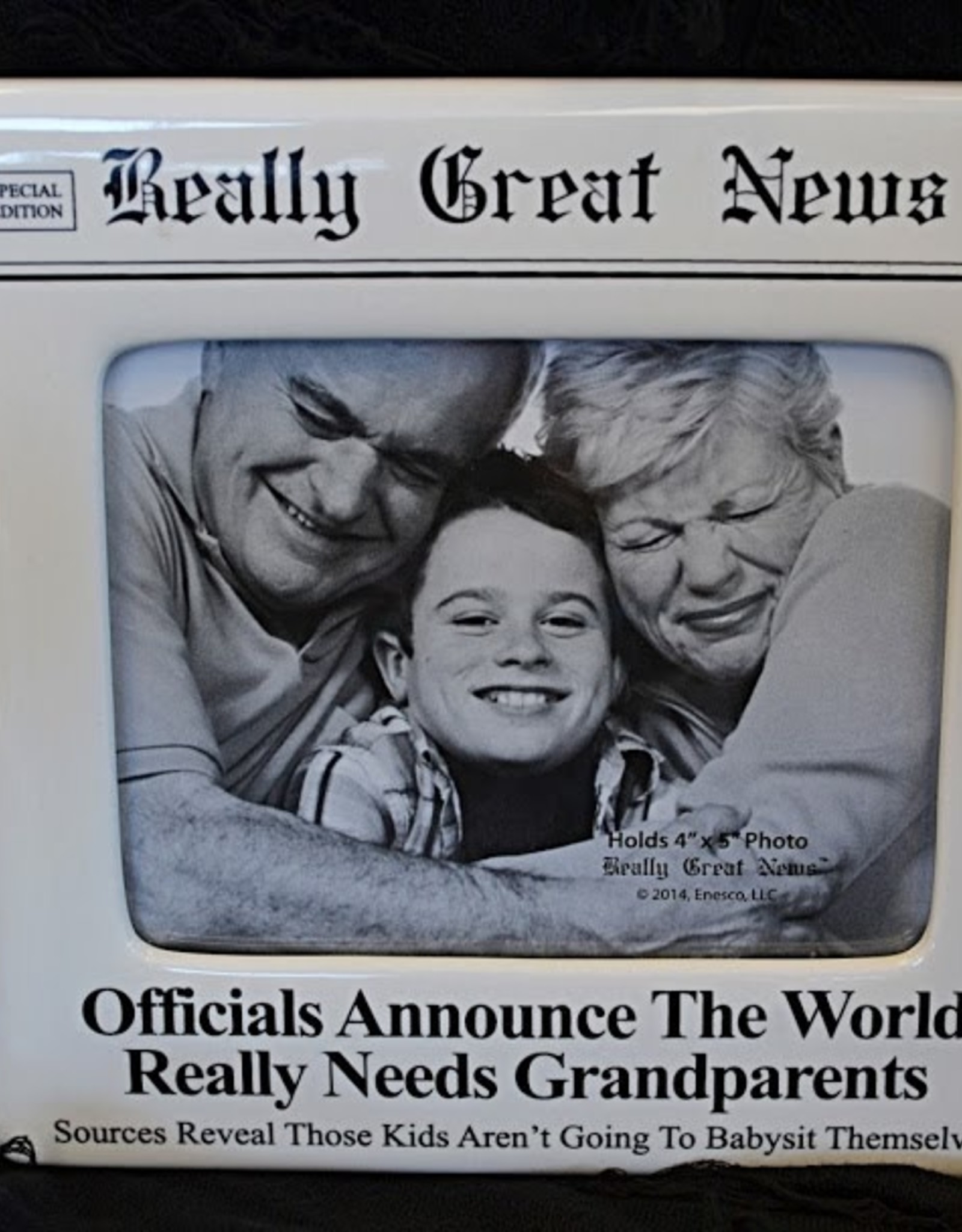 Pretty Strong Really Great News Picture Frame