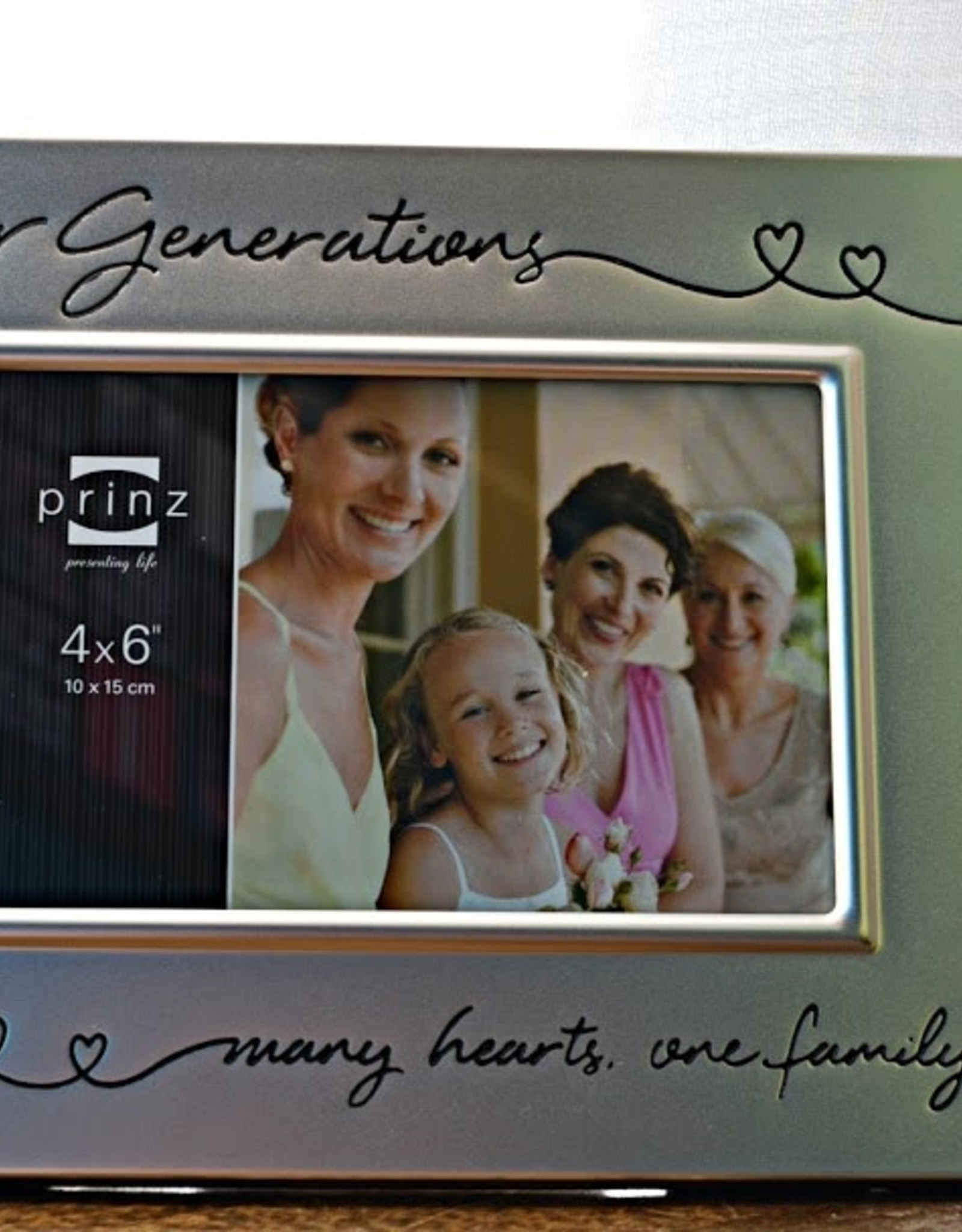 Pretty Strong Four Generations Picture Frame