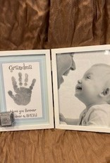 Pretty Strong Grandma Hinged Hand Print & Picture Frame