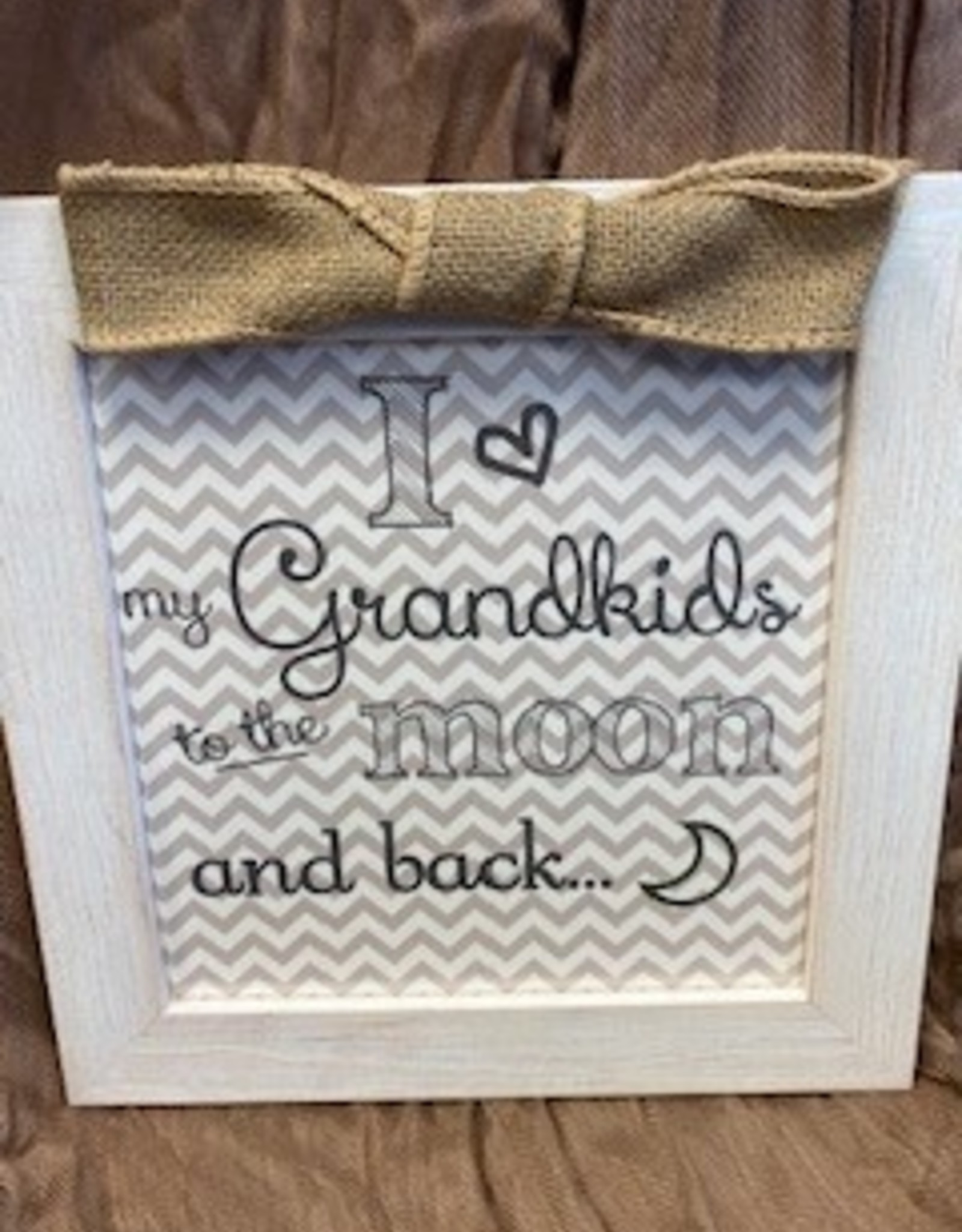 To the Moon and Back Sign