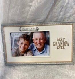 Pretty Strong Grandpa & Me Picture Frame