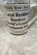 Pretty Strong Really Great News Grandparent Mug