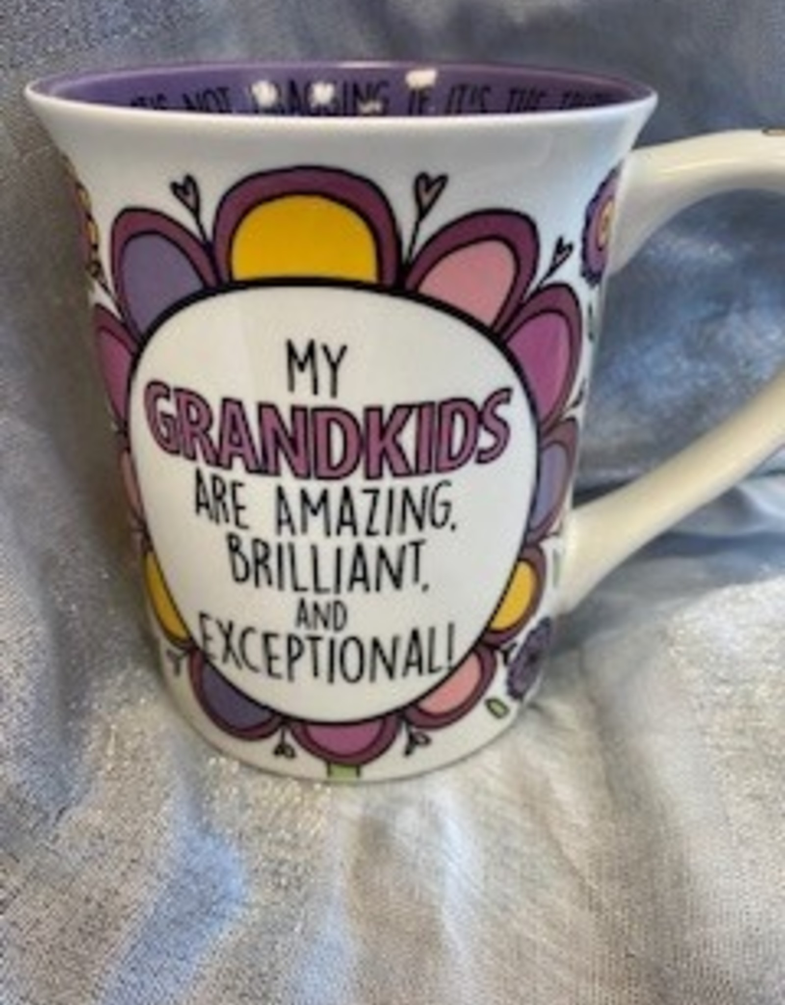 Pretty Strong Grandmother/Grandkids Mug