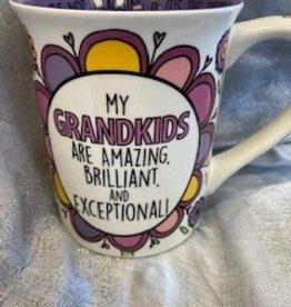 Pretty Strong Grandmother/Grandkids Mug