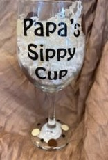 Pretty Strong Papa's Sippy Cup