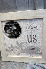 Pretty Strong The Best of Us Ultrasound Gender Reveal Frame