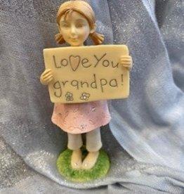 Pretty Strong Love Your Grandpa Figurine