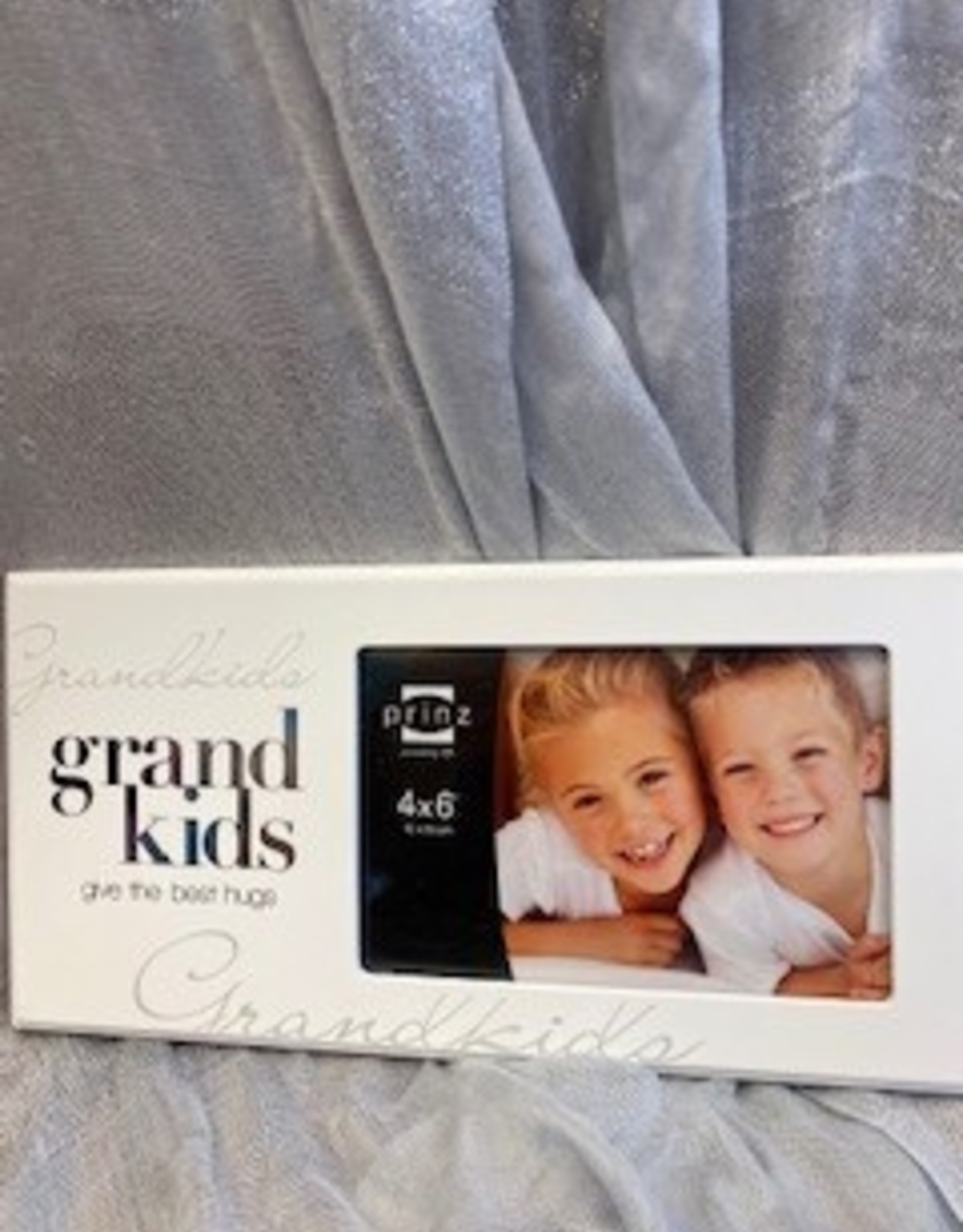 Pretty Strong Grandkids Give the Best Hugs Frame