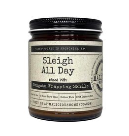 Malicious Women Candle Co. Sleigh All Day Candle