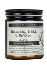 Malicious Women Candle Co. Raising Hell & Babies Candle