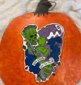 Tawny Kristine Frankenstein Pumpkin