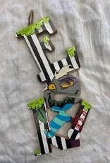 Tawny Kristine Beetlejuice EEK Wooden Sign