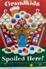 "Custom Decor Grandkids Gingerbread House Flag (28x40"")"