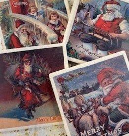 Santa Coasters