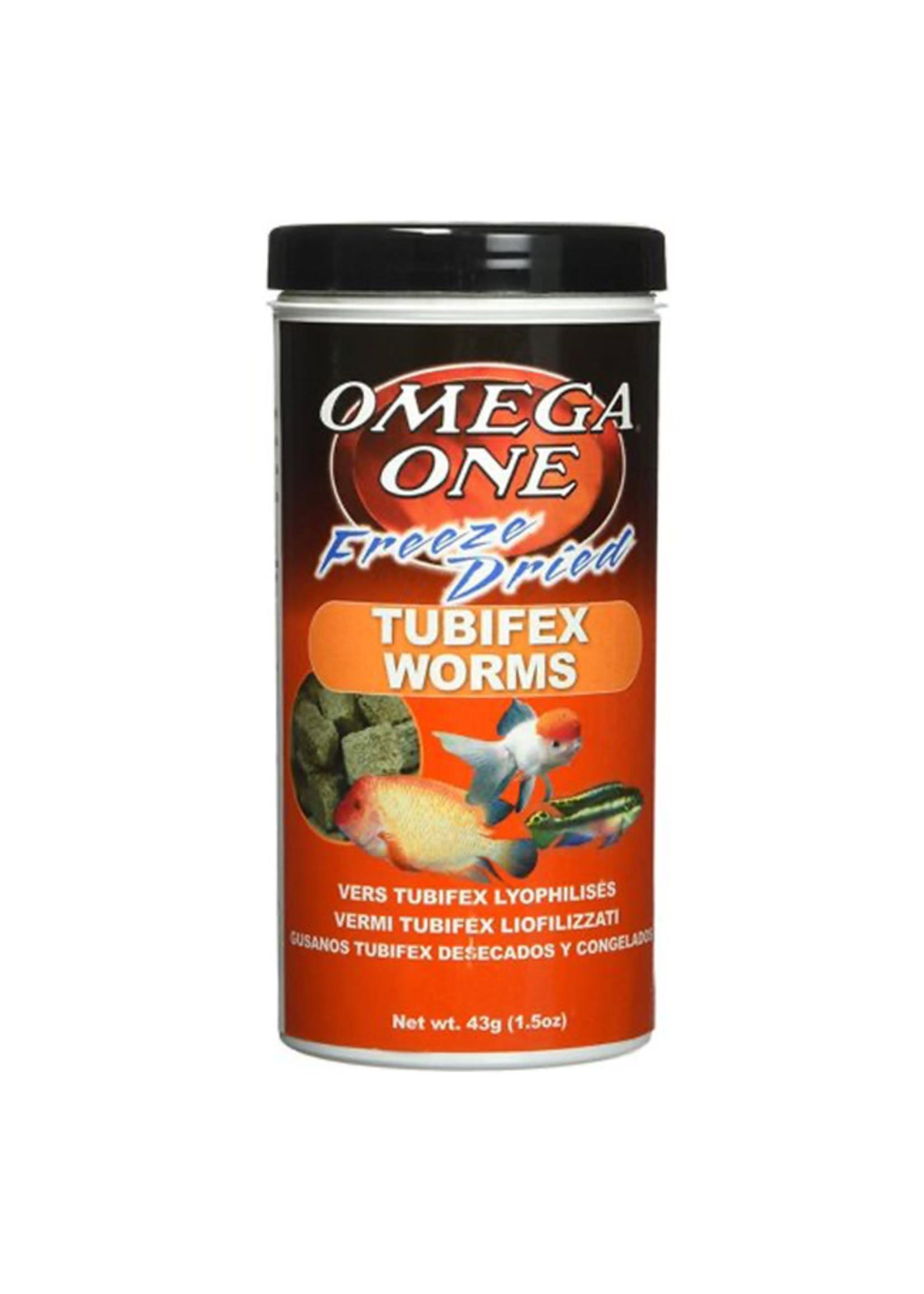 Omega One Omega One Freeze Dried Tubifex Worms Nutri-Treat