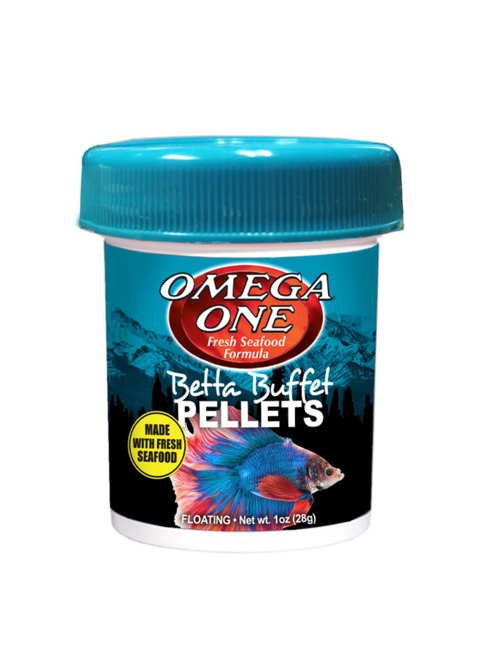 Omega One Omega One Betta Buffet Pellets 28g / 1oz