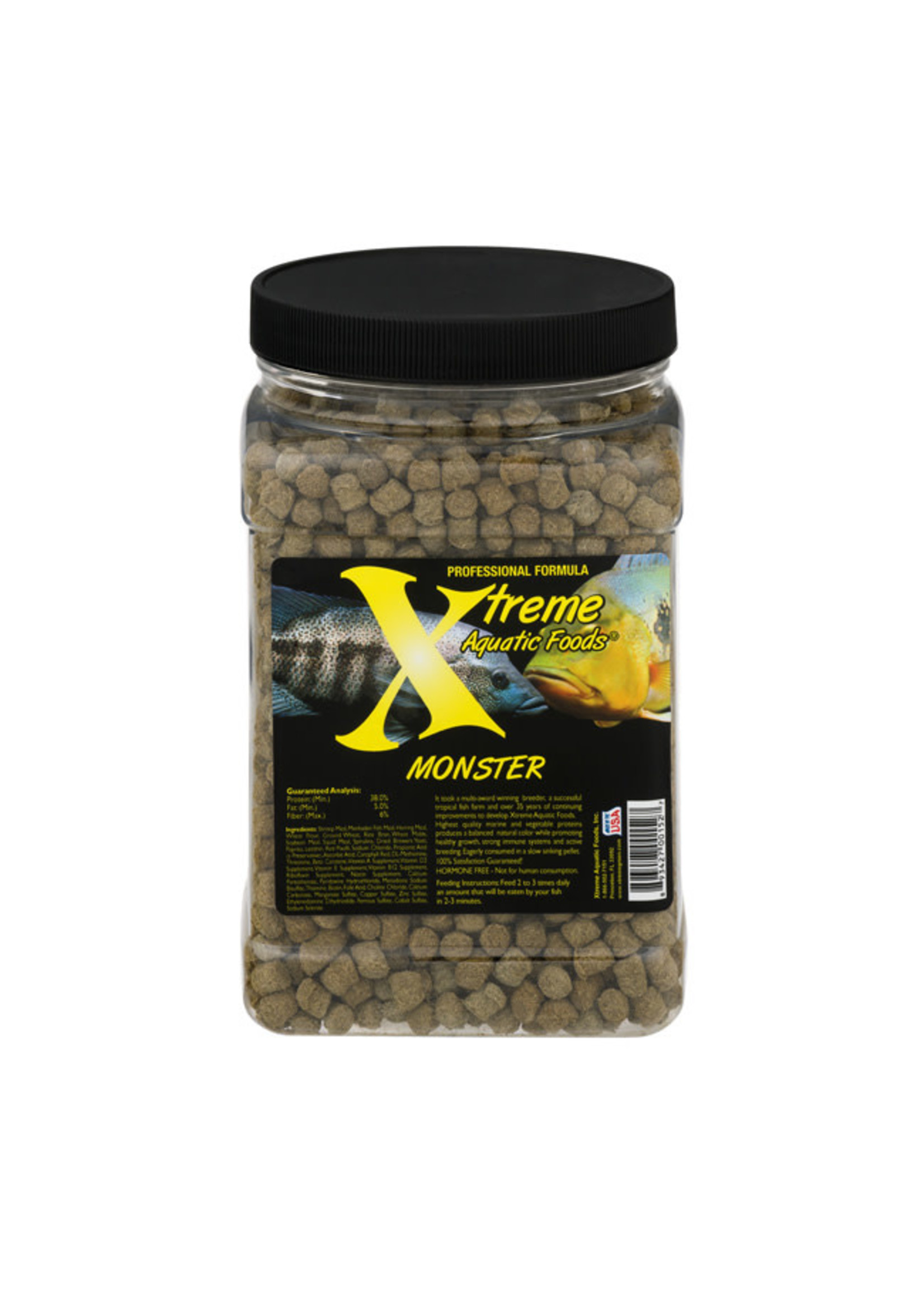 Xtreme Aquatic Foods Xtreme Monster Pellets 249g / 8.8oz