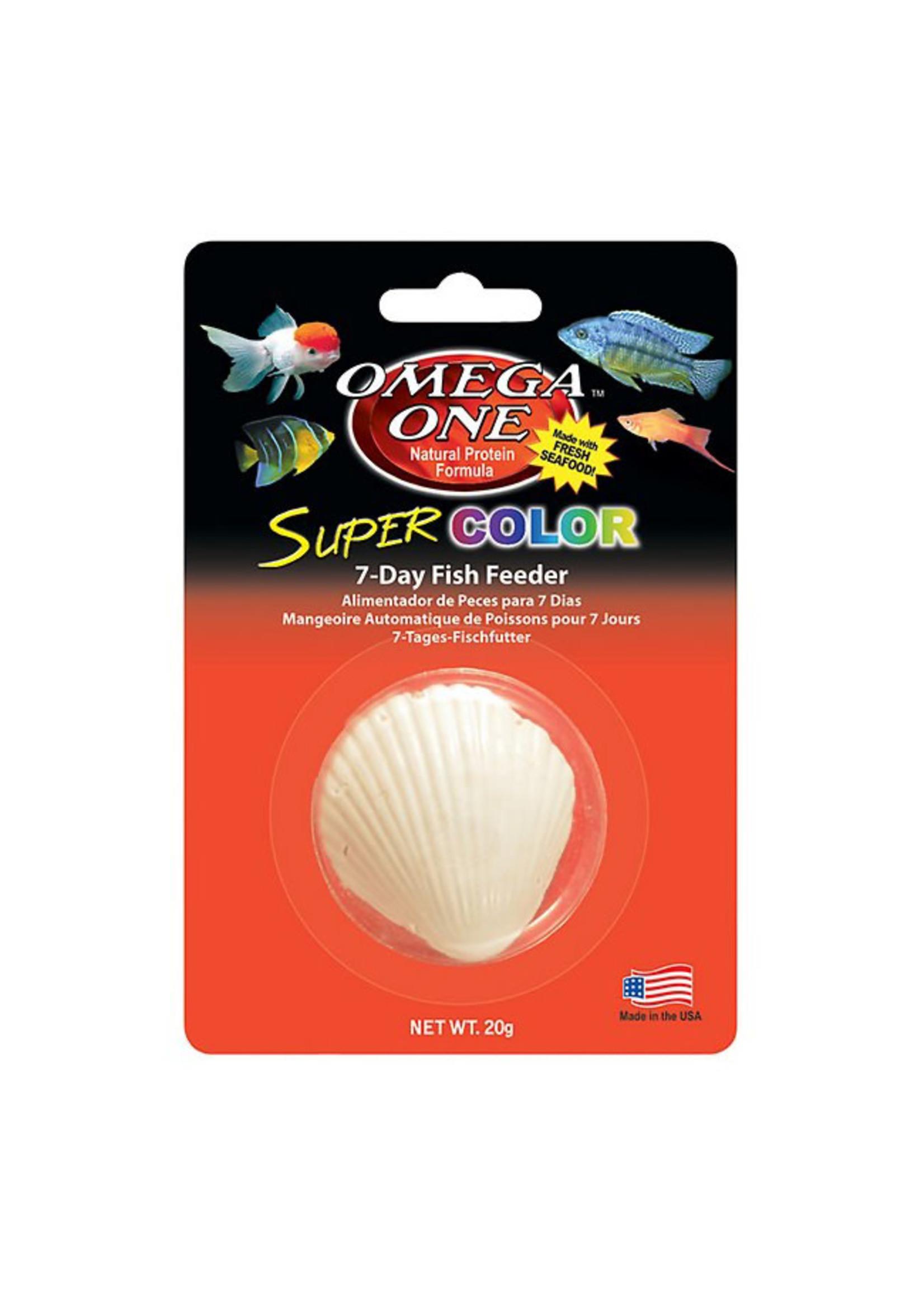 Omega One Omega One Super Color 7 Day Feeder