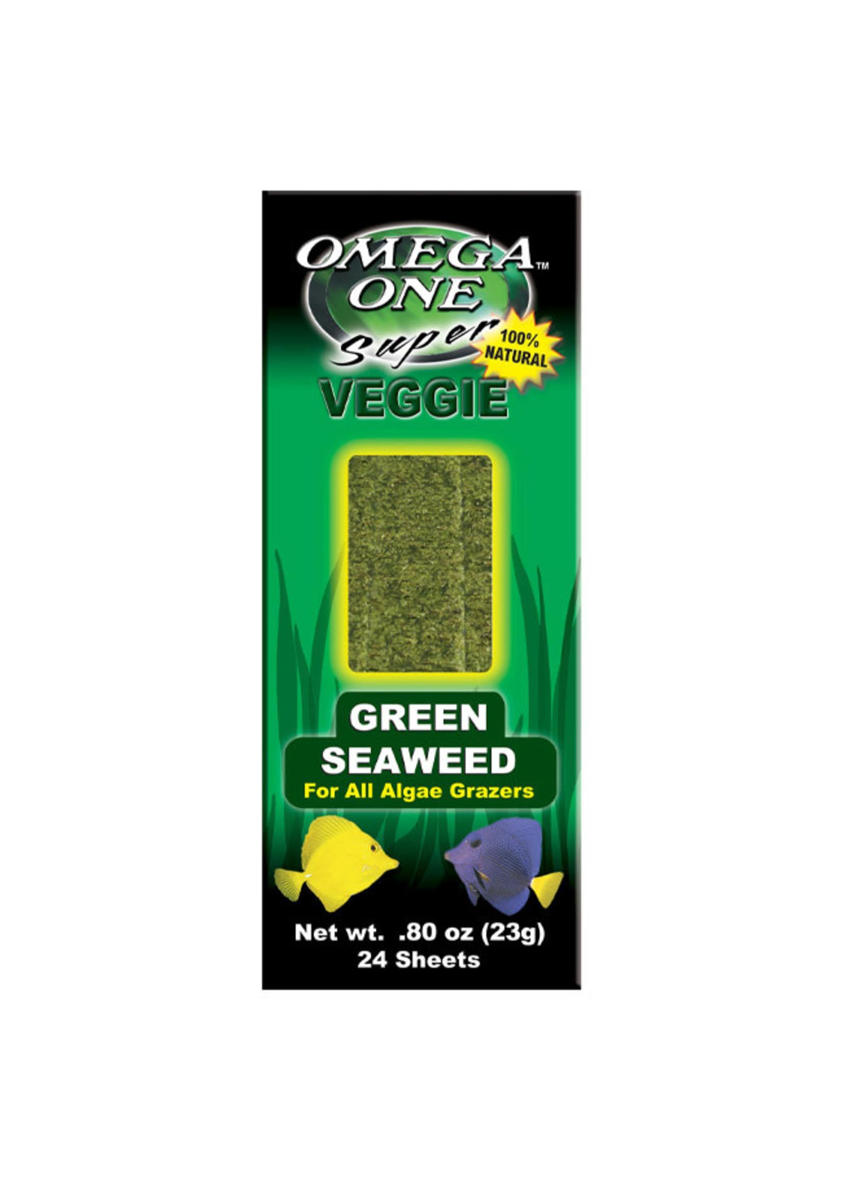Omega One Omega One Super Veggie Green Seaweed 24pk 23g / .8oz